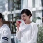 ミツカン飲む黒酢のCMで安田成美が夫と毎日の運動と黒酢飲料を飲む!「美味しいだけじゃない!」内臓脂肪が気になる方へ