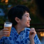 キリン零ICHI(ゼロイチ)と焼きナスください!CMで夏目三久さんと東出昌大くんが納涼床から花火鑑賞~ノンアルコールビール